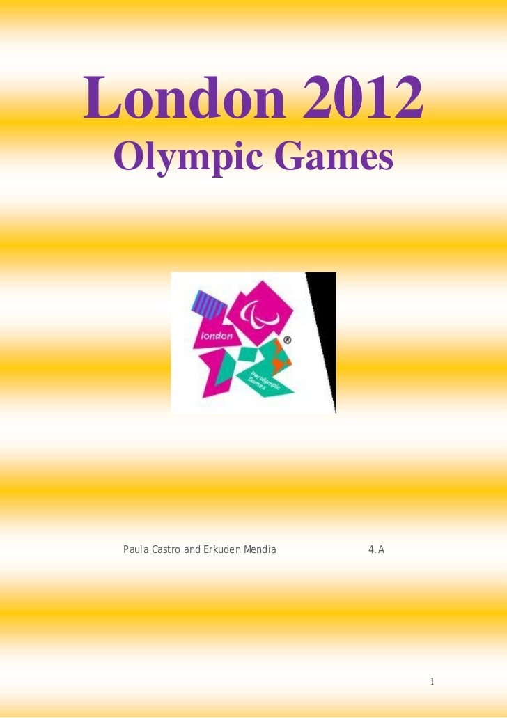 London 2012Olympic Games Paula Castro and Erkuden Mendia   4.A                                         1