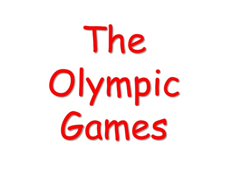 TheOlympicGames