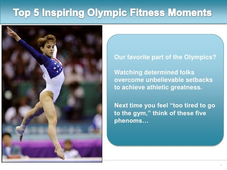 Top 5 Olympic Fitness Moments