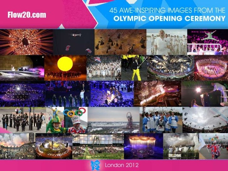 Olympic opening ceremony images