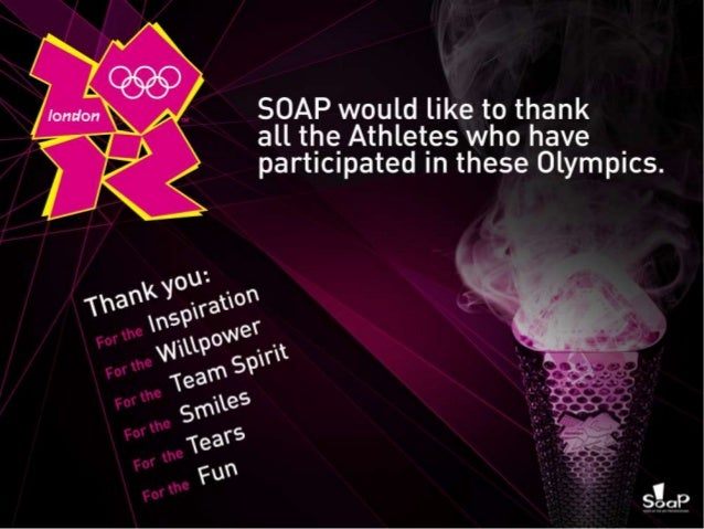 Olympics 2012 by SOAP