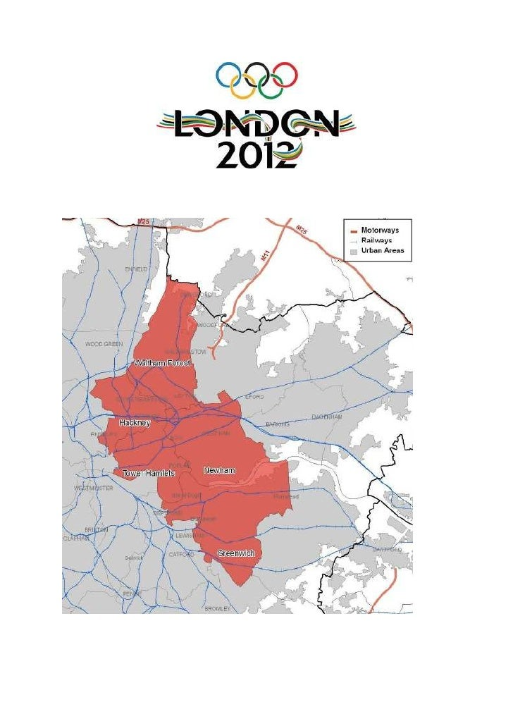 Olympics   affects on  east london