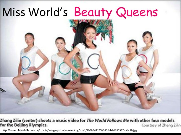 Beauty Queens make Music Videos at Beijing Olympics