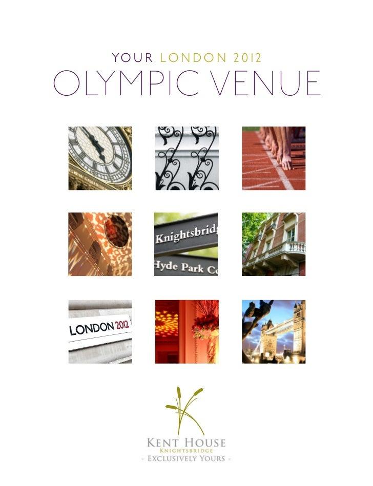 Olympics Brochure