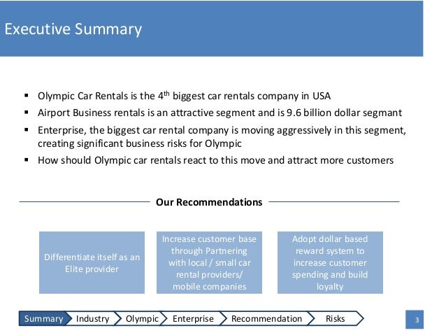 business proposal case study The executive summary of the business plan needs to capture the reader's attention and get them reading the rest of the plan here's how to write one.