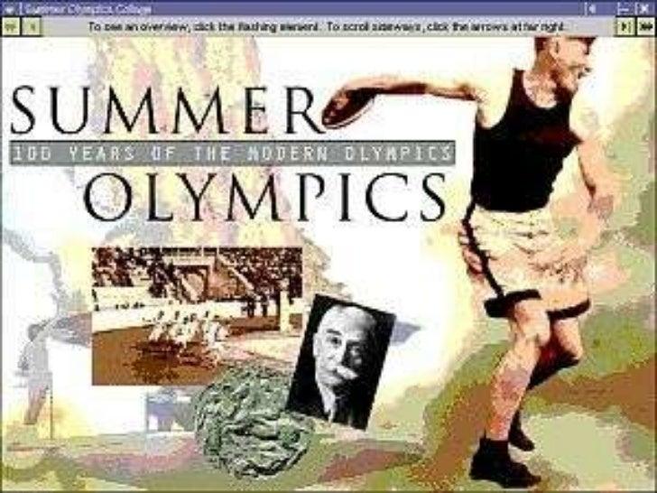 Olympics Quiz  - Answers