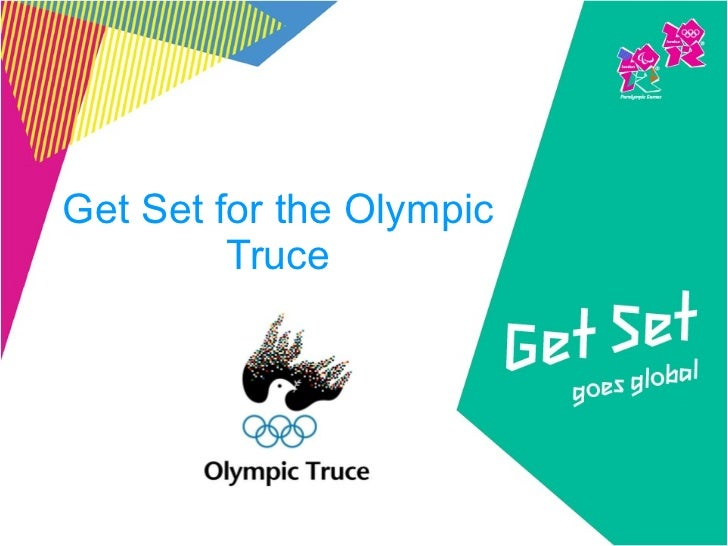 Get Set for the Olympic Truce