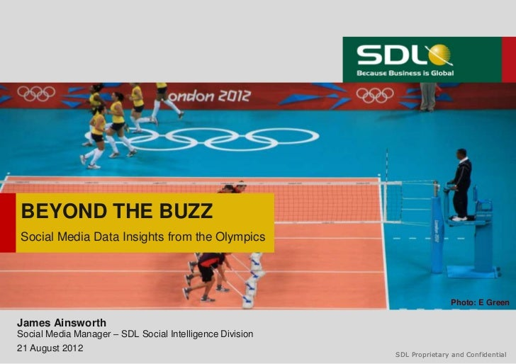 Beyond Buzz: Social media data insights from the London 2012 Olympic Games