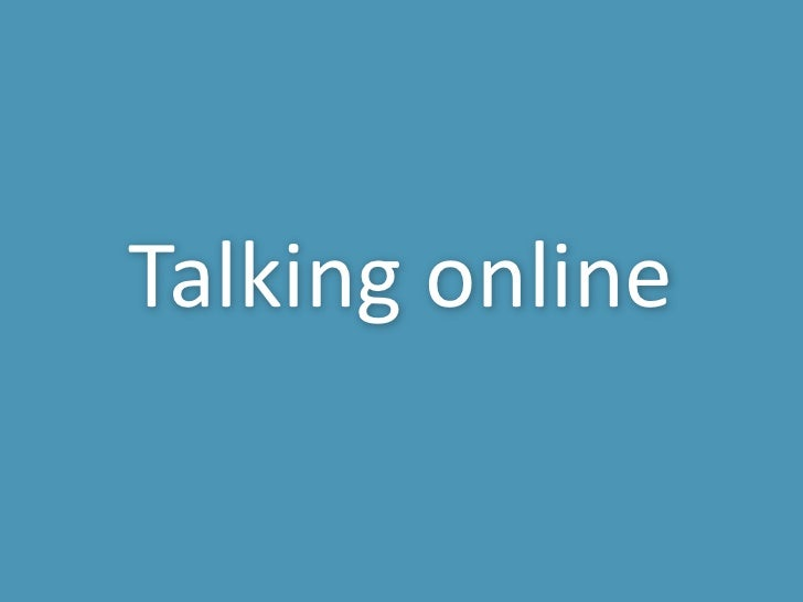 Getting Digital Webinar 2: Talking Online from Chris McGuire, Occupancy Marketing