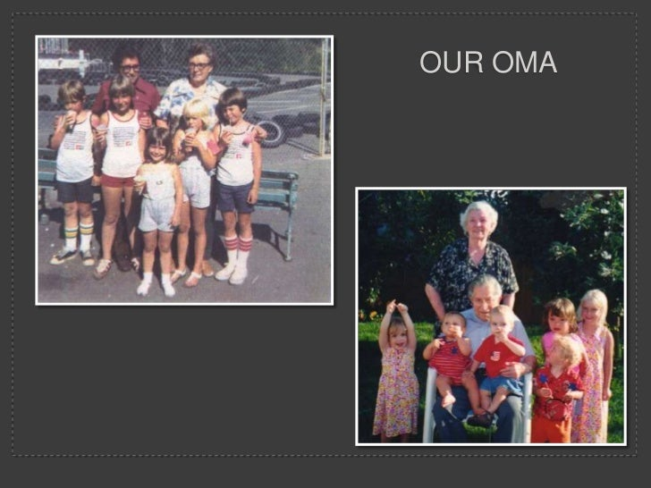 Oma funeral
