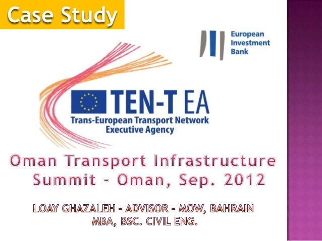 TEN-T Case Study, Oman Transport Summit