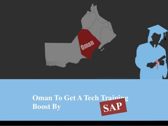 Oman To Get A Tech Training Boost By