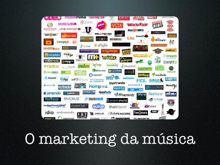 O marketing da música