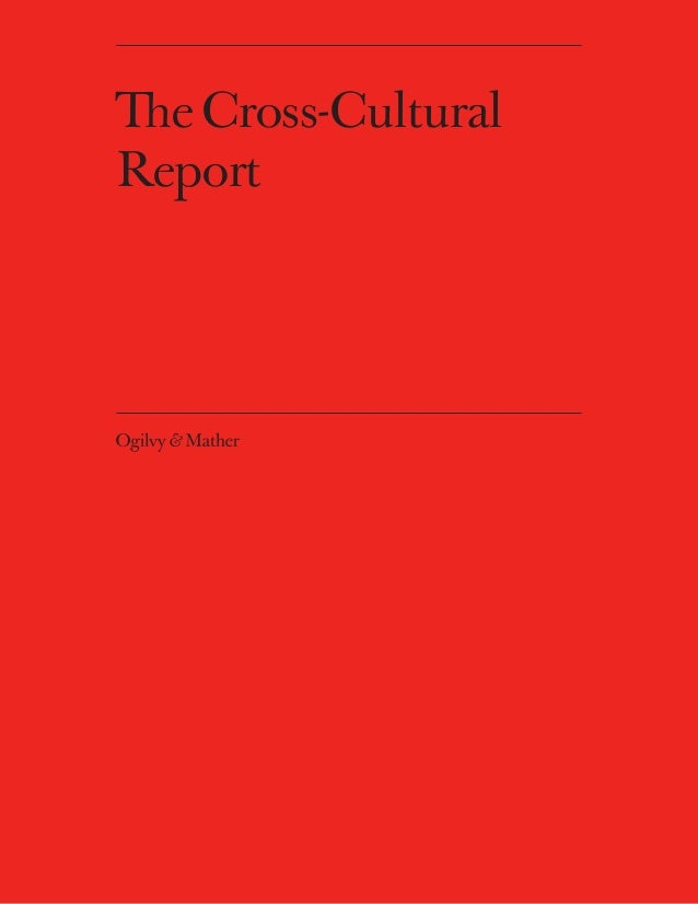 The Cross-CulturalReport
