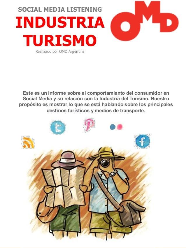 OMD Report - Industria del Turismo