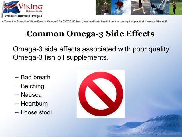 omega 3 fish oil side effects are there any ForSide Effects Of Fish Oil Supplements