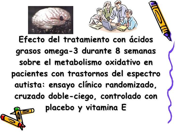 Efecto del tratamiento con ácidos grasos omega-3 durante 8 semanas sobre el metabolismo oxidativo en pacientes con trastor...