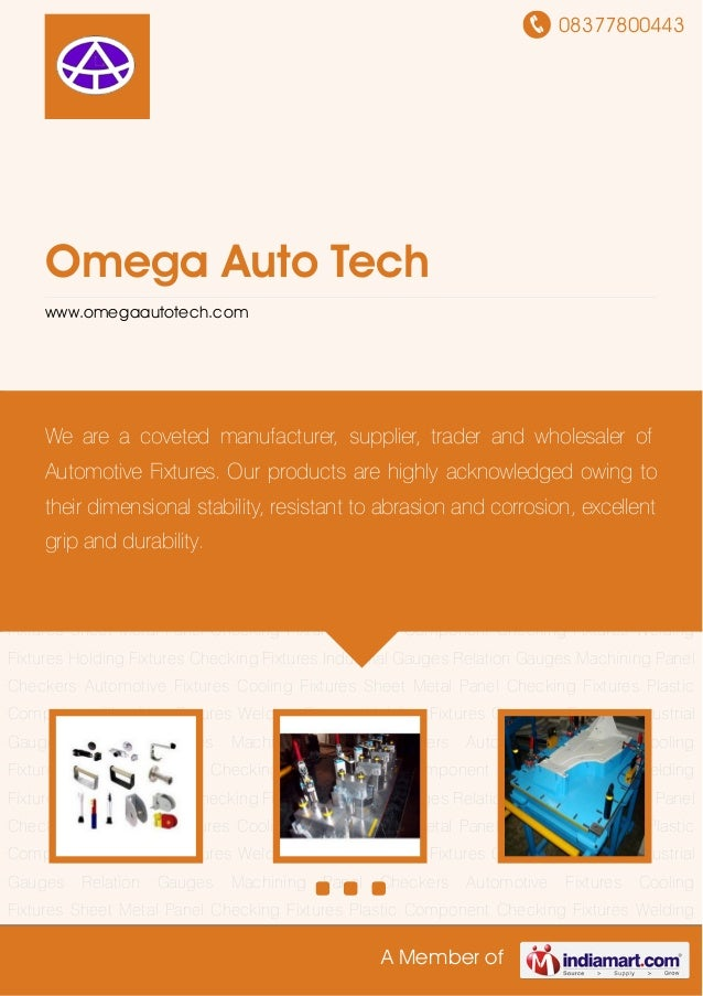 08377800443A Member ofOmega Auto Techwww.omegaautotech.comAutomotive Fixtures Cooling Fixtures Sheet Metal Panel Checking ...