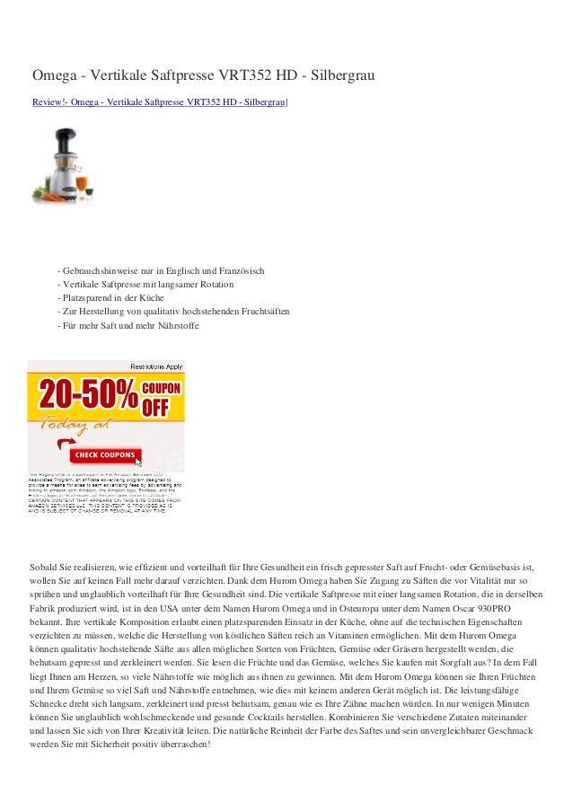 Omega vertikale-saftpresse-vrt352-hd-silbergrau