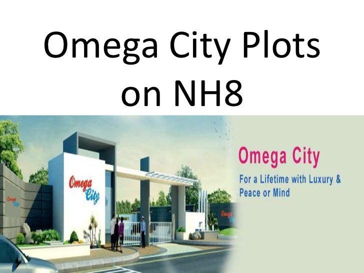 Omega City Plots   on NH8