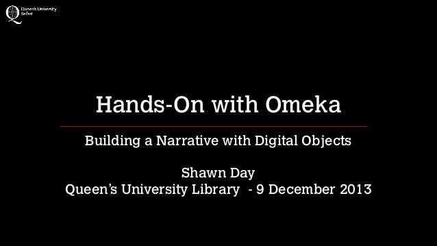 Introduction to Omeka