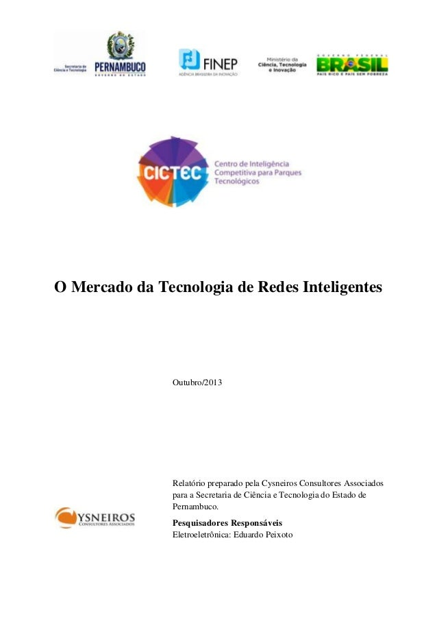 O mercado da tecnologia de redes inteligentes