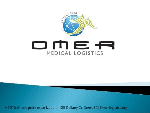 Omer Medical Logistics Overview