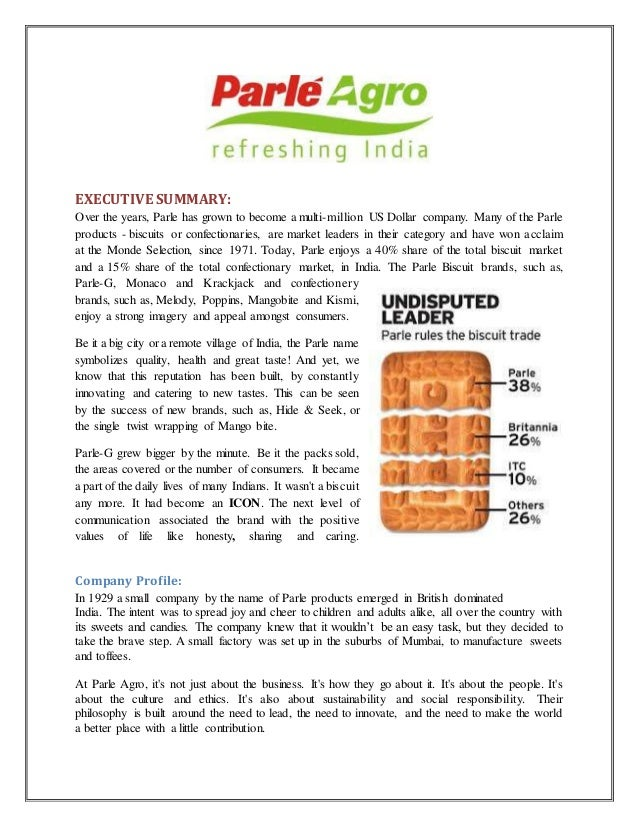 inventory management of parle g company Parle products is an indian private limited company it owns the famous biscuit  brand parle-g as of 2012, it had a 35% dominant share of the indian biscuit.