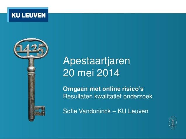 20140520 Sociale media: we like - Sofie Vandoninck