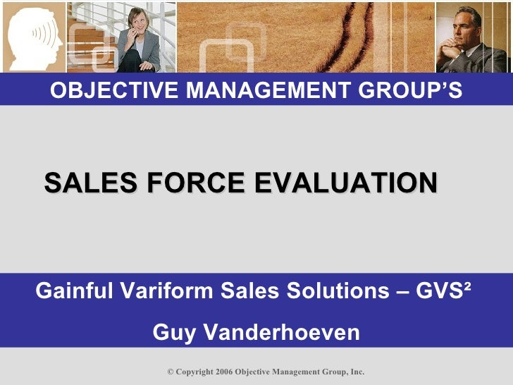 Sales Assessments GVS