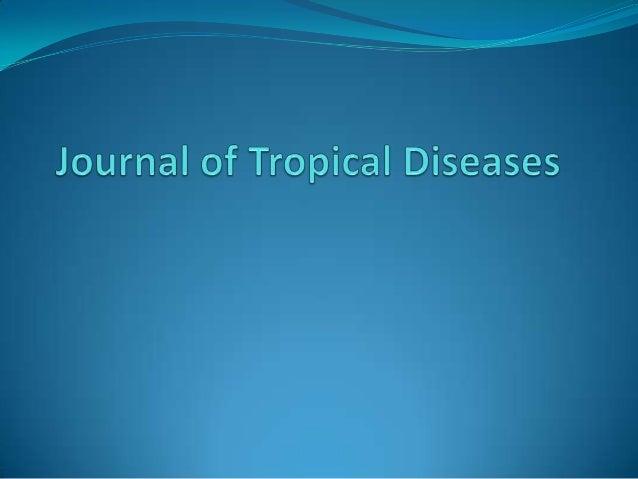 Journal of Tropical Diseases