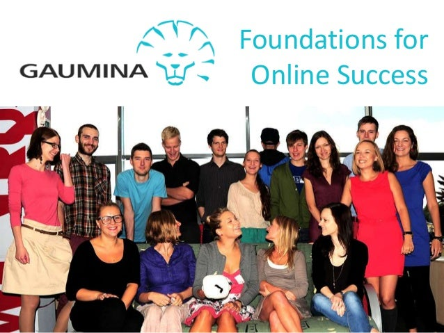 Foundations forOnline Success