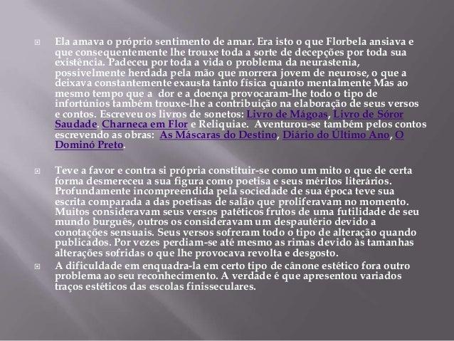Florbela Espanca caracteristicas literarias