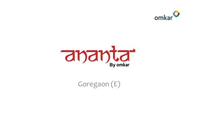 Omkar Ananta - Goregaon, Mumbai