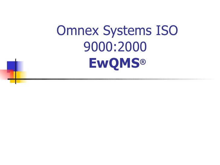 Omnexsystem spresentation