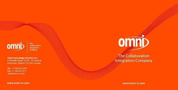 Omni - The Integration Company