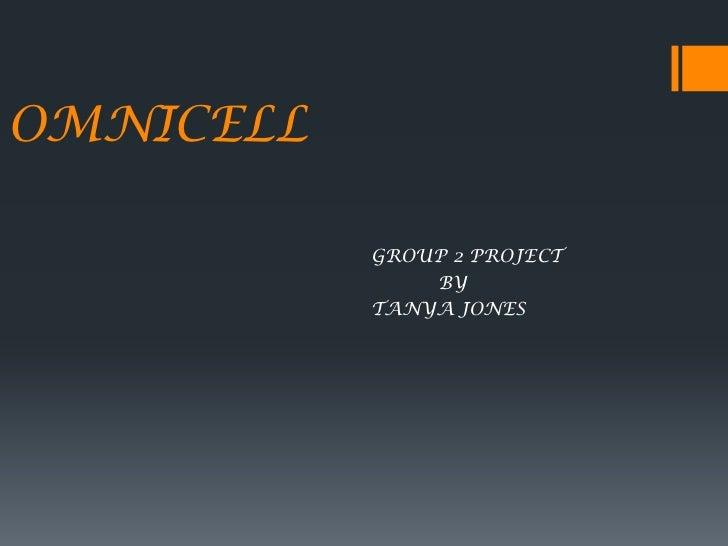 Omnicell presentation for nursing informatics