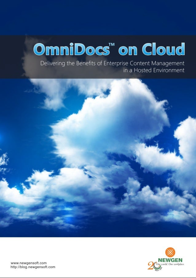 Omnidocs on Cloud