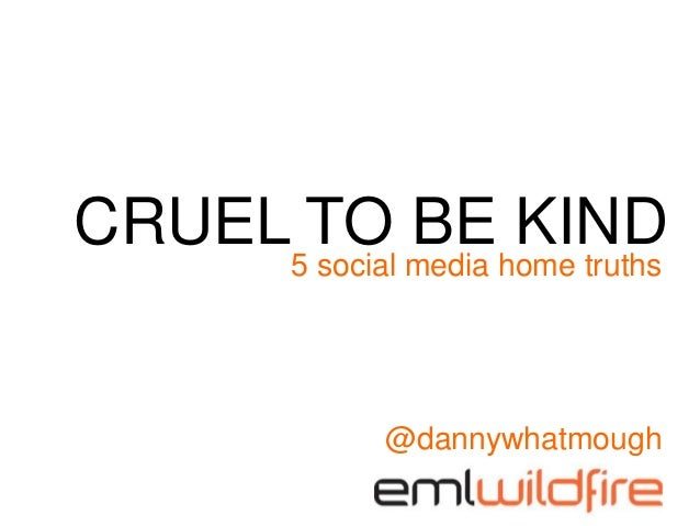 5 social media home truths