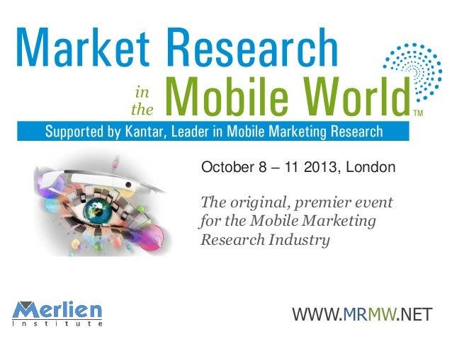 O Mobile Citizen, Where are thou - SKIM & Vodafone
