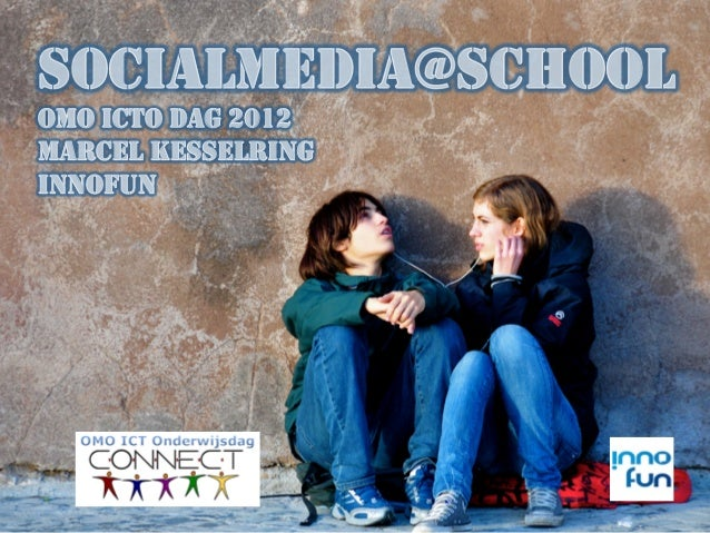 SOCIALMEDIA@SCHOOLOMO ICTO DAG 2012MARCEL KESSELRINGINNOFUN