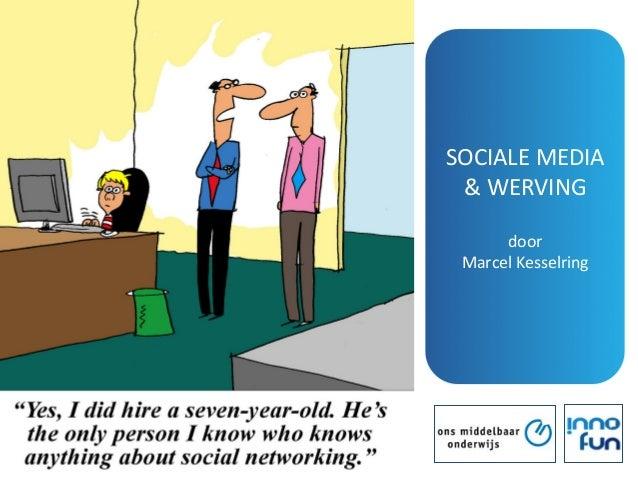 Sociale media voor werving personeel in het onderwijs