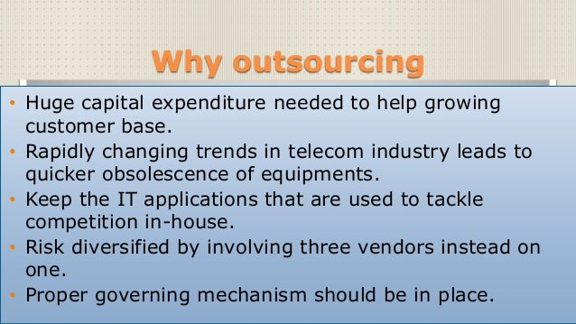 Case Solution Strategic Outsourcing at Bharti Airtel Ltd ...