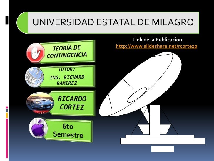 Link de la Publicación<br />http://www.slideshare.net/rcortezp<br />