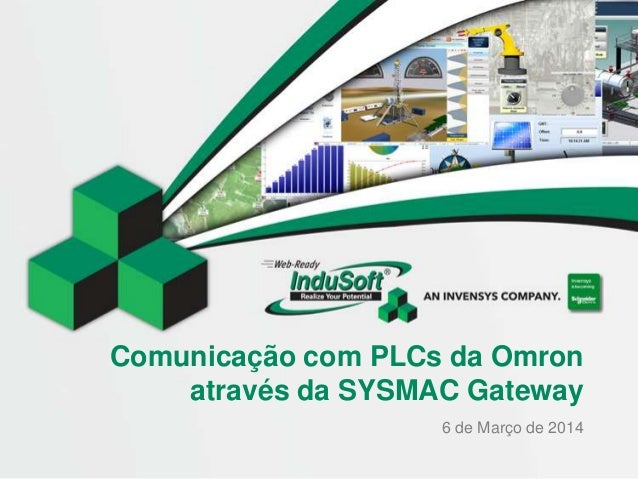 Comunicação com PLCs da Omron através da SYSMAC Gateway