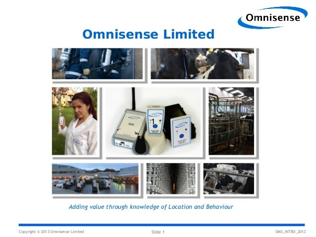 Omnisense Overview