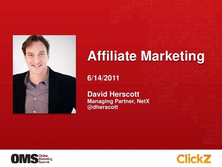 Affiliate Marketing Basics