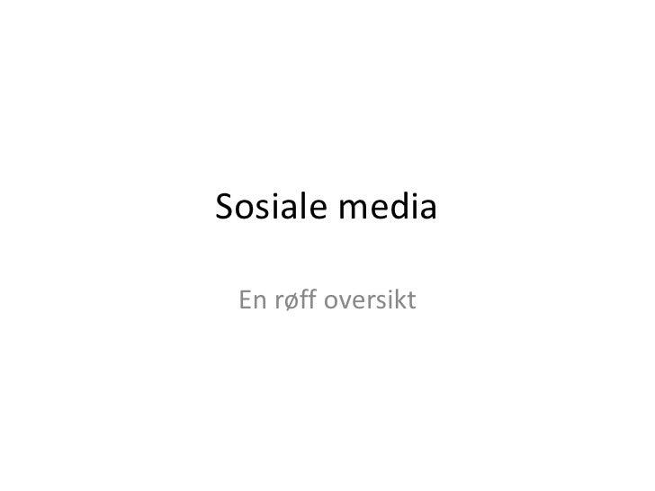 Om Sosiale Media