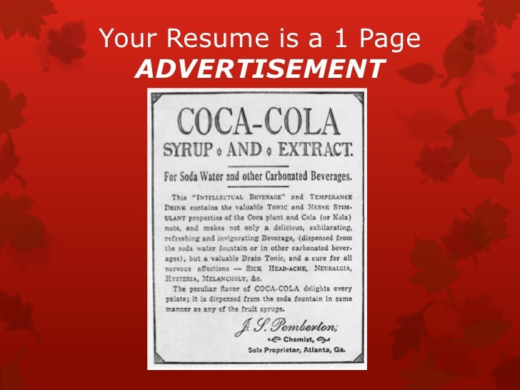 How to write an online resume