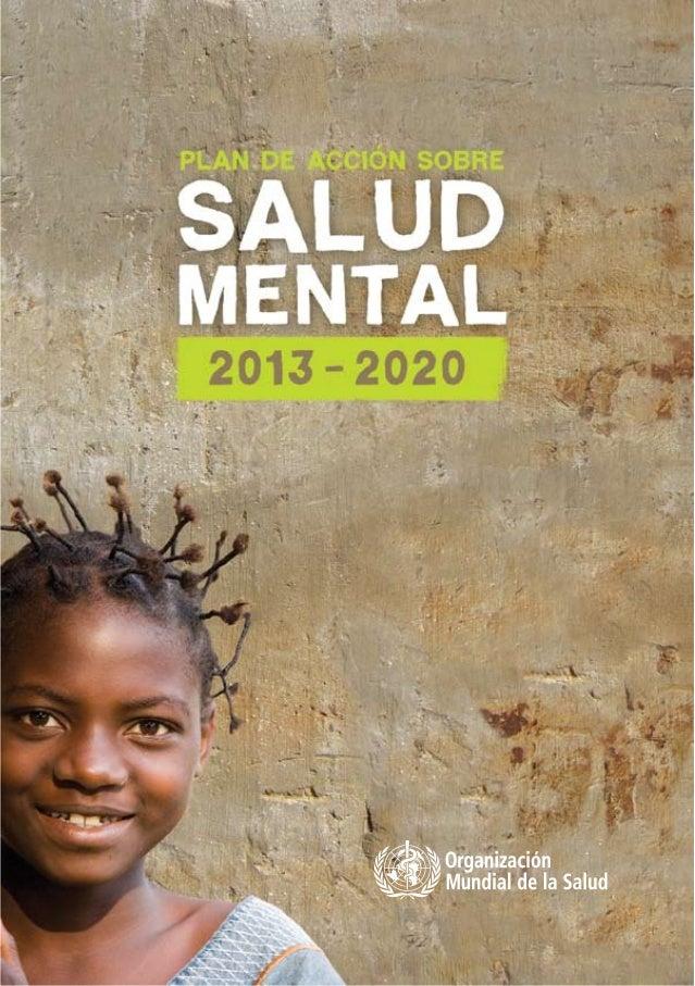 © Organizaciόn Mundial de la Salud, 2013 Se reservan todos los derechos. Las publicaciones de la Organizaciόn Mundial de l...